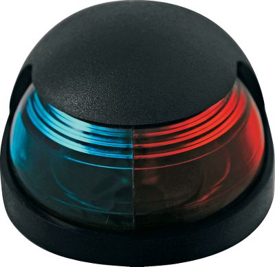 Red/green lens color tuned for optimum visibility. Powered by 12-volt DC system. For use on boats up to 65.6 ft. Includes 8-watt festoon bulb. Colors: Black, Chrome. Color: Black. Type: Boat Interior Light/Accessories. - $21.99