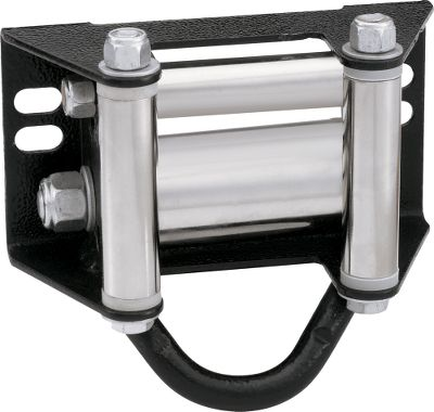 Heavy-duty frame with convenient center tie-down/anchor point. The oversized, friction-reducing bottom roller extends winch-cable life. Perfect for use with winch-operated blades. Size: 6-1/2 W x 5-1/2 T x 3 D. Gender: Male. Age Group: Adult. Type: Winch Accessories. - $39.99