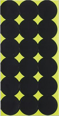 Inexpensively make custom target sheets for close-range air gun shooting or long-range .22 rimfire or centerfire sharpshooting. These self-adhesive targets let you quickly and easily create your own challenging target sheets to hone your shooting skills. Test your endurance and concentration by placing multiple 1 targets on a single sheet for extended target practice. Available: 18-sheet pack, 432 self-adhesive 1 targets G Round per 122, 144 pasteres. Size: 6 12PACK. Type: Targets. - $7.99