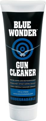 This concentrated Biodegradable Gel delivers penetrating deep-cleaning performance without noxious fumes or flammable liquids. It removes copper and lead deposits from the bore, powder residue and black-powder corrosion as well as plastic buildup from shotguns. And it removes rust without harming the gun's bluing. Color: Blue. Type: Solvents. - $9.99