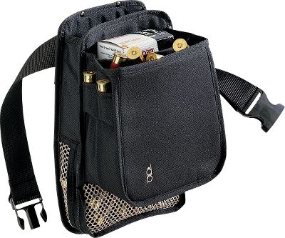 This pouch combines the best of two best-selling pouches. Two front compartments hold up to 100 live rounds and 100 hulls. Colors: Black, Green. Color: Black. Gender: Male. Age Group: Adult. Type: Pouches. - $27.99