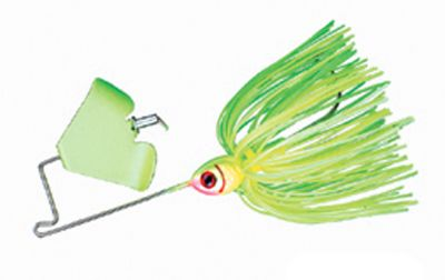 Fishing The 1/8-oz. buzzbait is one of the most effective lures made. Booyah has perfected it with its Pond Magic Buzz. The matching color blades and exclusive 60-strand ultrafine silicone skirt match the hatch of bass' favorite prey. The buzzing action, combined with the realistic hard coat paint schemes, will make the Buzz your go-to buzzbait this season. 2/0 Mustad Ultra Point hook. Per each. Weight: 1/8 oz. Colors: (001)Limetreuse, (002)Citrus Shad, (003)Shad, (004)Firefly, (005)Red Ant, (006)Firebug, (007)Junebug, (008)Grasshopper. Color: Red. Type: Buzzbaits. - $4.99