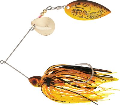 Fishing All of the premium features of the Hot Wire Spinnerbait with matching crawfish patterns make this bait deadly when crawfish are the prey of choice. Size: 3/8 oz. Colors: (715)Sunrise Craw, (716)Moss Back Craw, (717)Nest Robber, (718)Okie Craw, (719)White Craw. Color: Sunrise. - $5.99