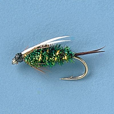 Flyfishing Work rivers and lakes with confidence with this all-purpose nymph. The Prince Nymph is particularly effective on rivers with hatches of black caddis. Each has peacock herl on the body. Per 12. Sizes: 12, 14, 16. Color: Peacock. Type: Nymphs. - $11.99