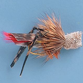 Flyfishing Hopper flies are a necessity for your fly box when working waters in the West. The grasshopper is a tasty treat for trout in mid to late summer and early fall. These flies imitate the appearance of a hopper as it hits the water. Per 12. Sizes: 8, 10, 12. Type: Dry Flies. - $15.99