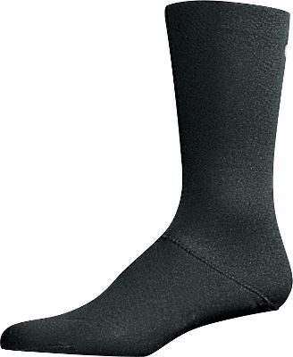 Fishing Neoprene socks are comfortable, stretchable and prolong the life of your waders. We suggest wearing a lightweight liner sock next to the skin to wick away moisture. 2mm Neoprene Socks are warm, wool free and highly water resistant. Lightweight, stretchable neoprene allows for a good fit with most boots. Contours to the foot like a regular sock. We suggest wearing a lightweight liner sock to wick out moisture. 10 height. Imported. Sizes: S(5-1/2 to 7-1/2), M(8 to 10-1/2), L(11-13), XL(13- 1/2 to 16). Size: M. Color: Black. Gender: Male. Age Group: Adult. Material: Wool. Type: Wader Socks. - $13.99