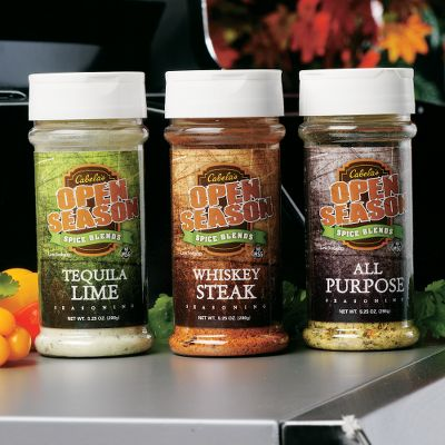 Entertainment Change a dish from ordinary to extraordinary with three flavorful seasonings. Use them like salt when preparing your favorite dish. Or add a dash after cooking in place of table salt and/or pepper. Recipes are included on the label. Low sodium. No MSG. Three 5.25-oz. shakers. Flavors include All Purpose, Roasted Garlic and Beer, Whiskey Steak. - $19.99