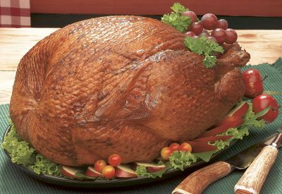 Hunting Build your holiday gathering atop a solid foundation: Lay this tender smoked turkey on the table and your guests eyes will light up when that first bite melts in their mouths. From there, the tone for the evening is set and you can do no wrong. This bird is an impeccable combination of buttery moist texture and hickory-smoked flavor, and the included cooking and handling instructions ensure you experience it to its full potential. Our food makes a great gift for family, friends or business associates. To place a multi item food order for your business please contact Cabelas Corporate Outfitters at 1-800-243-6626. Wt: 9-11 lbs. Serves: 10 to 12. Color: Multi. - $79.99
