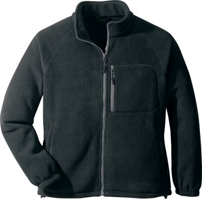 Ski Soft, midweight Polartec 200 fleece provides optimal warmth when worn with a shell or on its own in mild conditions. The synthetic fleece is anti-pilling on both sides to extend its good looks season after season. Zip-close handwarmer pockets; chest security pocket; contrast, nonabrasive flatlock stitching; adjustable cord-locked hem and elastic cuffs. Interior storm flap creates a barrier from gusty winds. Zip-in compatible with Cabelas Grand Teton Systems Parka (sold separately). Imported. Sizes: S-3XL. Colors: Black, Brick Red, Bright Blue, Pine Ridge, Smoke, Lagoon, Evergreen, Steeple Gray. Size: MEDIUM. Color: Pine Ridge. Gender: Male. Age Group: Adult. Material: Fleece. - $19.88