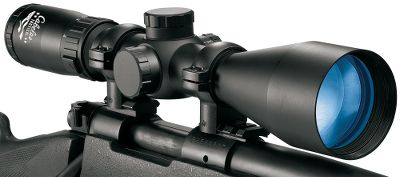 Hunting Larger, tactical-grade 30mm tubes deliver more range of adjustment and maximum brightness for surgical long-range performance. And the Alaskan Guide name means youre getting a scope built with premium components to Cabelas strictest quality standards. Each is made to extremely tight tolerances for crunch-time dependability and edge-to-edge clarity in the worst environments imaginable. Cutting-edge Guidetech broadband lens technology delivers 99.95% light transmission for brightness- and contrast-optimizing performance in low-light conditions. This groundbreaking lens-coating process creates an invisible bond between the glass and the multilayered coatings for extra-hard durability. Precision-enhancing, three-dimensional forging produces one-piece tubes with the highest internal performance tolerances and rugged strength. All components are machined to military-grade tolerances for smooth, reliable operation. Low-profile turrets with 14-MOA click windage and elevationadjustments for the 2.5-10 power models and a 1/8-MOA click windage and elevation adjustments for the 6-18 and 8-32 power models. Hard-blasted anodized finish for lasting durability and corrosion resistance. Generous 3.7 eye relief for fast target acquisition. Moisture- and dust-repelling lenses. - $149.88