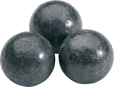 Perfectly shaped by a cold-forming process for consistent diameter and weight, each of these round balls is coated to reduce the hazards of lead oxidation. In addition, youll find no mould-parting lines, air pocket voids or sprue marks that could impede accuracy. Sold per 100 in .32 through .54 caliber, per 50 in .58 caliber. Color: Black. Type: Round Ball. - $12.99