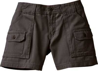 Camp and Hike The 100% cotton 7-Pocket Hikers have a shorter 5 inseam and lower rise that sits at the hip to give these shorts a fresh new look and a fit that will keep pace with your active lifestyle. Designed to handle any trail you might choose to hike, these shorts are contemporary classics. The seven pockets enable you to carry all sorts of items easily no more fumbling through keys and coins to find what you need. They feature deep, spacious front bellows pockets, with small button-close pockets on the front, a handy knife pocket, button-through rear pockets and 2-wide belt loops. Imported. Inseam: 5. Even sizes: 4-18. Color: Sand Dune. Size: 16. Color: Sand Dune. Gender: Female. Age Group: Adult. Material: Cotton. - $9.88