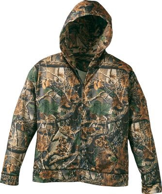 Hunting Medium-weight fleece delivers the warmth and comfort of cotton without the heavy bulk. The quick-drying moisture management matches that of high-tech athletic fabrics. 100% polyester. Imported. Sizes: M-3XL. Camo pattern: Cabelas Seclusion 3D. Size: LARGE. Color: Seclusion 3-D. Gender: Male. Age Group: Adult. Material: Fleece. Type: Hoodies. - $29.99