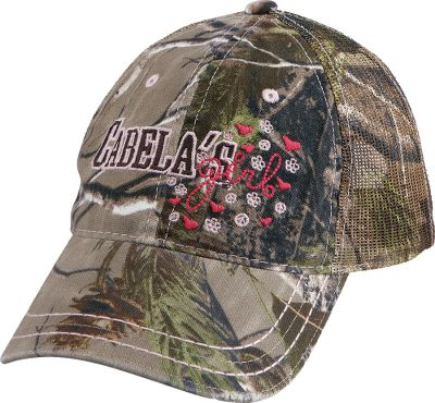 Hunting Distressed style meets practical comfort for your outdoor hunting adventures. Six-panel construction with stitched visor. Hook-and-loop closure. 60/40 cotton/polyester. One size fits most. Imported. Camo pattern: Realtree APG. Size: ONE SIZE FITS MOST. Color: Realtree Apg Hd. Gender: Female. Age Group: Adult. Material: Cotton. Type: Caps. - $4.88