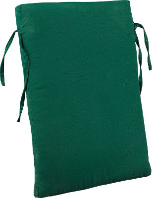 Camp and Hike The Outdoor Back Cushion delivers exceptional all-weather comfort and a lifetime of low-maintenance durability. Mildew- and water-resistant 100% solution-dyed acrylic shell is UV-treated for fade resistance and filled with polyester foam for cushioned comfort and support. Included ties secure the cushion in place. Concealed zipper in back provides no-hassle access. Hand washable. Made in USA. Dimensions: 18H x 25-1/2W x 2-1/2D. Colors: Autumn, Burgundy, Camel, Green Striped, Hunter Green, Salsa. Size: SALSA. Color: Natural. Type: Cushions. - $49.99