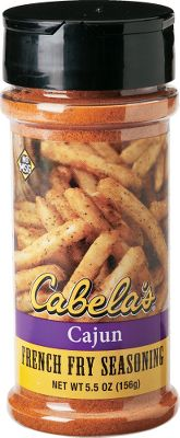 All it takes is a sprinkle of these savory seasonings to liven up ordinary french fries, potato wedges and baked potatoes. Shake a little onto veggies for a blast of flavor that will even have your kids asking for more. Also great on popcorn or to add a little kick to your fish fry or fried chicken. Each is packaged in a 5.5-oz. shaker. Available: Cajun, Steak Fries, Chili Cheese, Buffalo Wing, Ranch, Parmesan and Garlic, Sour Cream and Onion. Type: Seasonings & Spices. - $4.99