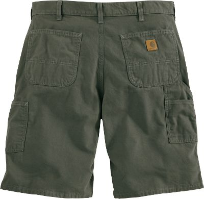 Rugged, 8-1/2-oz. ringspun cotton canvas construction delivers work-site-proven durability for warm-weather jobs. They sit slightly below the natural waist for all-day comfort. Multiple tool and utility pockets for versatile, on-the-go storage. Imported. Inseam: 11. Even waist sizes: 30-50. Colors: Golden Khaki, Charcoal. Carhartt Style No.: B278. Color: Golden Khaki. Gender: Male. Age Group: Adult. Material: Canvas. - $34.99