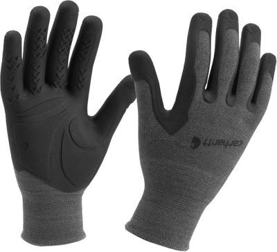 Injection molded with a C-grip coating, these durable nylon gloves provide unmatched grip, dexterity and vibration-dampening performance. Imported. Sizes:S/M, L/XL, 2XL. Color: Grey. Carhartt style no.: A571. Type: Gloves. Size: 2 X-Large. Size 2xl. Color Grey. - $11.50