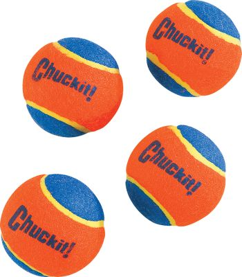 Hunting Extra balls are a must if you're using the Chuckit! These extra balls will keep your dog occupied for as long as you want to play. Extra thick rubber core, attractive colors with improved visibility. Per four balls. Type: Dog Toys. - $4.99