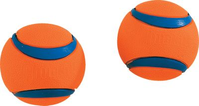 Hunting These balls are designed for the most demanding use, featuring high bounce, high buoyancy, high visibility, and high durability that makes their value easily recognized by dog owners. The Chuckit! Ultra Ball promises to outplay the ordinary. Made using durable natural rubber. Easy to keep clean. Per 2 balls. Color: Natural. Type: Dog Toys. - $7.99