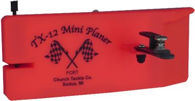 Fishing The TX-12 Mini Planer board is 7-1/2 with an adjustable clip that holds both superbraids and monofilament. Board pulls less on the rod than larger boards. Perfect for small crankbaits. Available: Port or Starboard. Type: Planer Board. - $29.99
