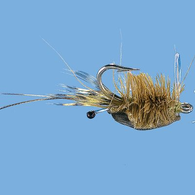 Flyfishing One of the best shrimp imitations available. Fire one out in front of saltwater game fish and let the battle begin. Per each. Size: 6. Colors: (009)Olive, (656)Tan. Color: Olive. Type: Saltwater Flies. - $2.99