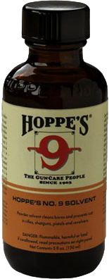 Hoppe's No. 9 remains the most widely used remover of powder, lead, metal fouling and rust. The formula penetrates deep and rapidly. Ultrapotent, safe and easy to use. A worldwide favorite since 1903. Per 5-oz. bottle. Color: Rust. - $7.99