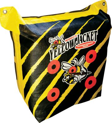 Hunting This target is specifically designed for high-speed bolts fired from crossbows and tipped with field points. It has an easy-carry handle and multiple bull's-eyes on the bag-style target. Engineered so it can be shot on two sides. Dimensions: 20 x 20 x 12 . Weight: 25 lbs. Color: Yellow. Type: Crossbow Targets. - $54.99