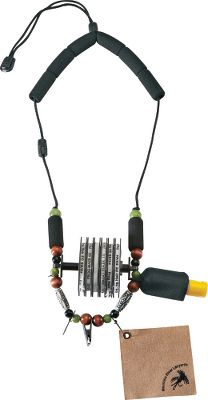 Fishing Horizontal quick-release tippet spool carrier simply twist and pull to open. Lanyard has custom beadwork, padded neck and safety release. Features four accessory snaps, floatant caddy, two foam fly patches, fly chamois and shirt clip. Gender: Male. Age Group: Adult. - $29.99