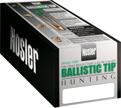 These bullets deliver the accuracy, consistency and down-range punch required for clean kills in all situations. These flat-shooting, wind-defying bullets use ballistic-designed boat-tails and polycarbonate tips to increase long-range efficiency and protect against tip damage in the magazine. Unique tapered jacket provides controlled expansion at all practical ranges and velocities. 6.5mm, .264 diameter. Per 50. Type: Rifle Bullets. - $19.99