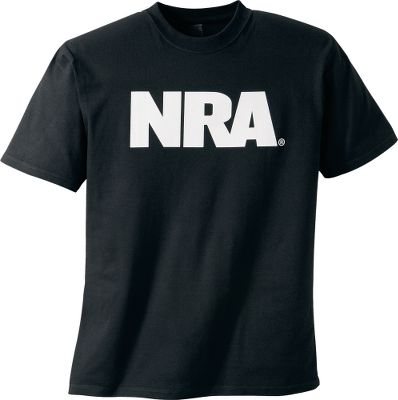 Let everyone know where you stand on the issue of gun ownership with an officially licensed NRA shirt. Made of preshrunk 100% cotton jersey fabric. Imported. Sizes: M-2XL. Colors: Black, White. Size: X-Large. Color: Black. Gender: Male. Age Group: Adult. Material: Cotton. Type: Short-Sleeve Tee Shirts. - $19.99