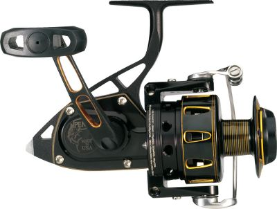 Fishing Penn reels are known for their durability and toughness, but the Torque Spinning Reel takes it to a new level. High-strength 100% stainless steel bail system. Machine-cut, marine-grade bronze main gear with stainless steel shaft. Fully sealed, oversized HT-100 Versa-Drag system for trophy-stopping power. Innovative bail trip allows anglers to choose between manual and automatic mode. Hardened stainless steel pinion gear. Seven sealed stainless steel ball bearings. Integrated clutch sleeve eliminates any backplay during the hookset. Full metal body. Made in USA. Color: Stainless Steel. - $679.99