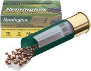 Hunting Hunters have depended on the precision of Remington ammunition for years, and these loads are specifically engineered to produce powerful, dense patterns to drop tough birds quickly. Copper-plated lead resists deformation and adds penetration on impact. The high-velocity rounds send patterns streaking to their targets at a quicker pace. 10 rounds per box. Type: Turkey Loads. - $15.99