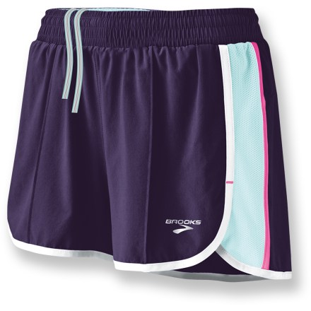 Fitness The Brooks Epiphany Stretch shorts II offer reliable comfort during warm-weather training. - $8.83